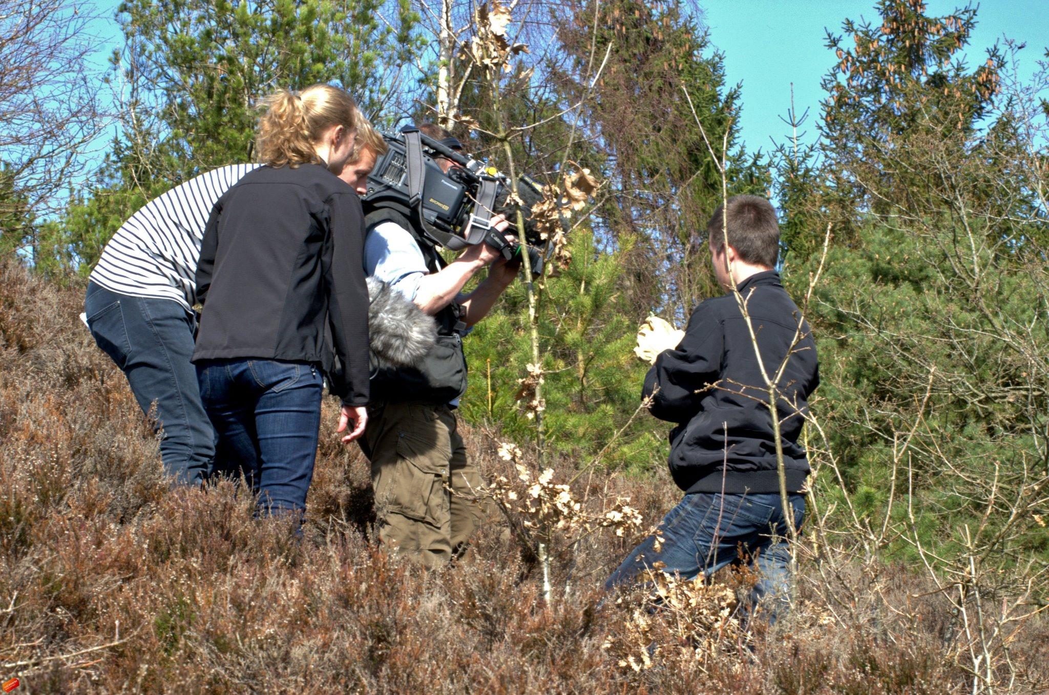 Her indgår jeg i et interview omkring de tidligt aktive krybdyr i foråret 2012 (foretaget af TV2 Nyhederne)